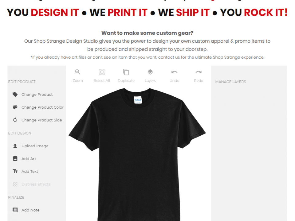 Design Your Own T-Shirts Online