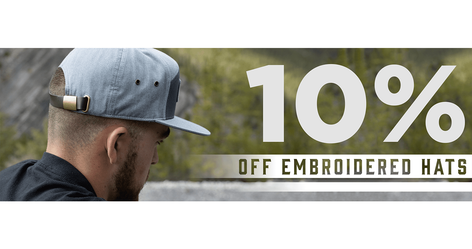 10% Off All Hats 50